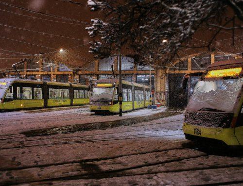 У новорічну ніч курсуватимуть три трамвайні маршрути