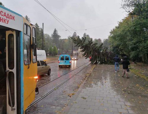 Тимчасово не курсують тролейбуси №22, 29, 32 та трамваї №1