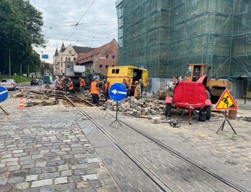Сьогодні не курсуватимуть трамваї на перехресті вулиць Підвальна – Руська