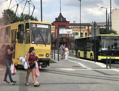 Трамвай № 1 тимчасово курсуватиме за зміненим маршрутом, через капітальний ремонт на вулиці Степана Бандери
