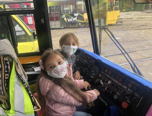 Наймолодші учасники «Європейського тижня мобільності» відвідали трамвайне депо на вулиці Городоцькій